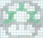 1-up Mushroom Pixel