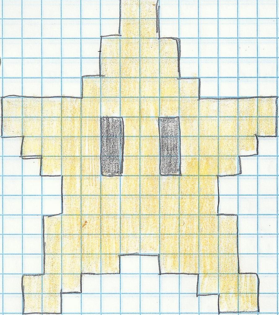 starman pixel by ashred29 starman pixel by ashred29