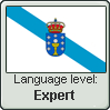 Galician Language Level Stamp EXPERT by sandranoqui