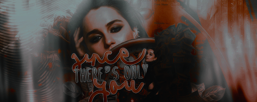 Since there's only you | Signature by sandranoqui