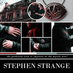 stephen strange | moodboard