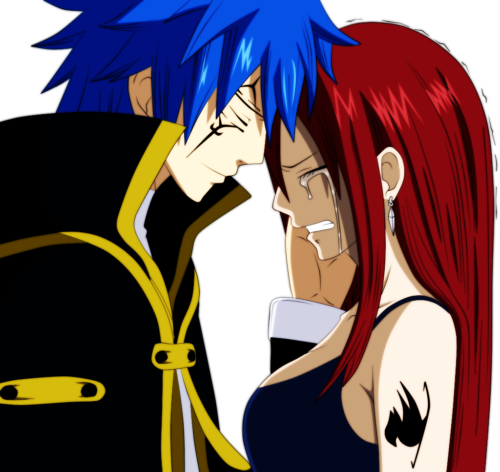 Jellal and Erza Scarlet [Finished] by MDesignInc on DeviantArt