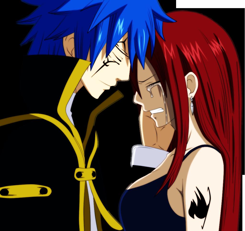 Jellal and Erza Scarlet [Finished] by MDesignInc on DeviantArt