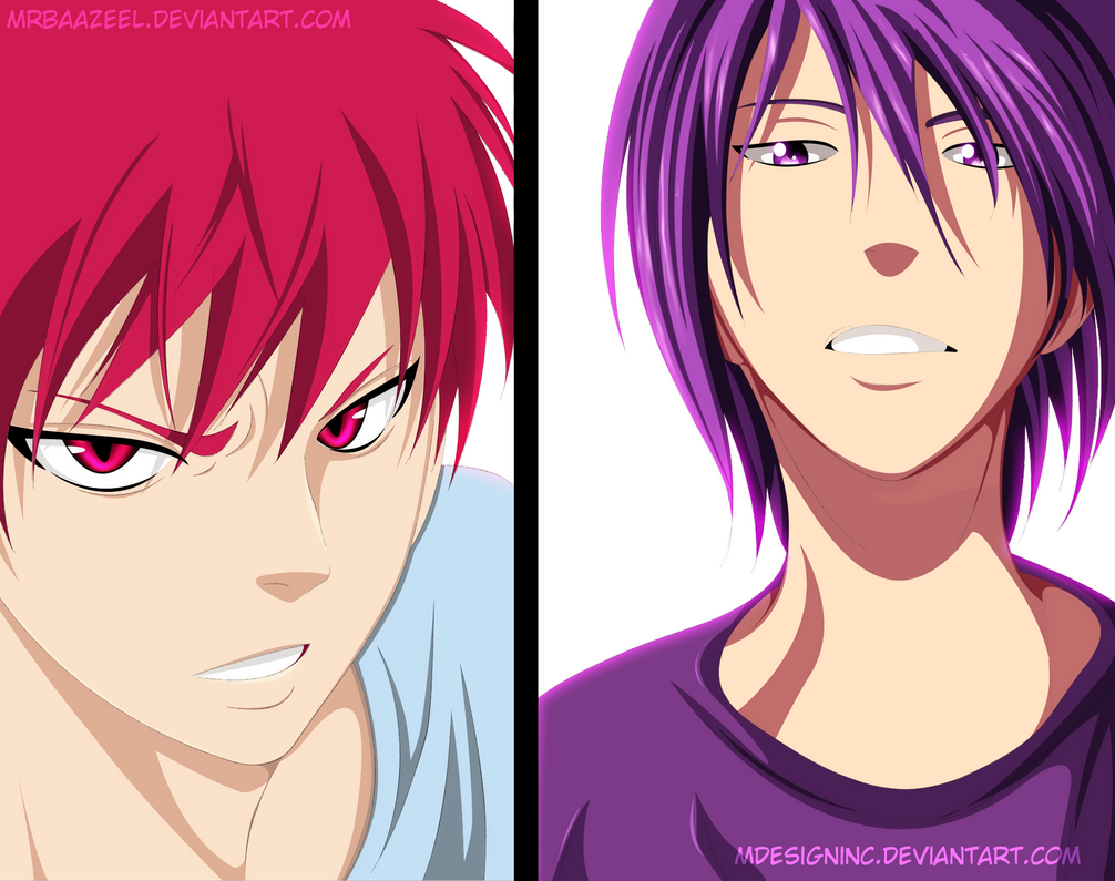 Akashi and Murasakibar...