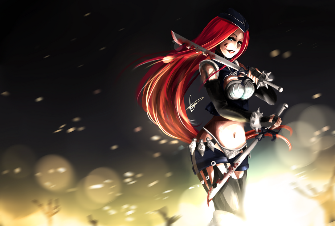Katarina Redesign by Hannah515