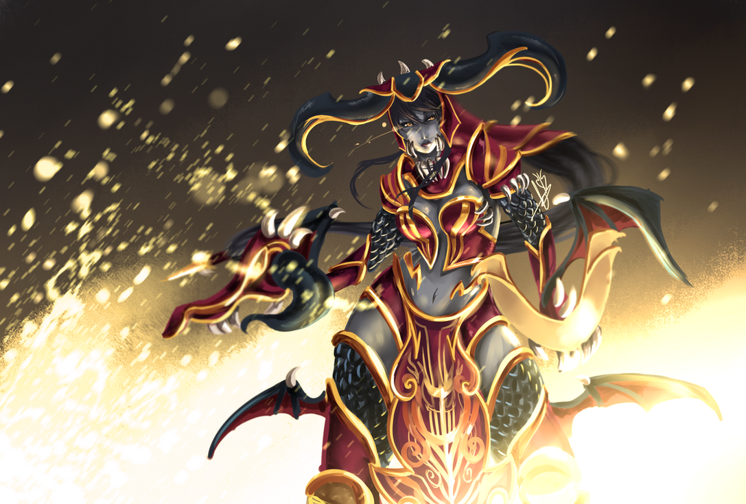 Shyvana Redesign by Hannah515