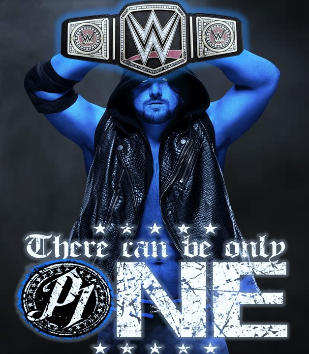 WWE World Champion AJ Styles By CRayChosen1 On DeviantArt