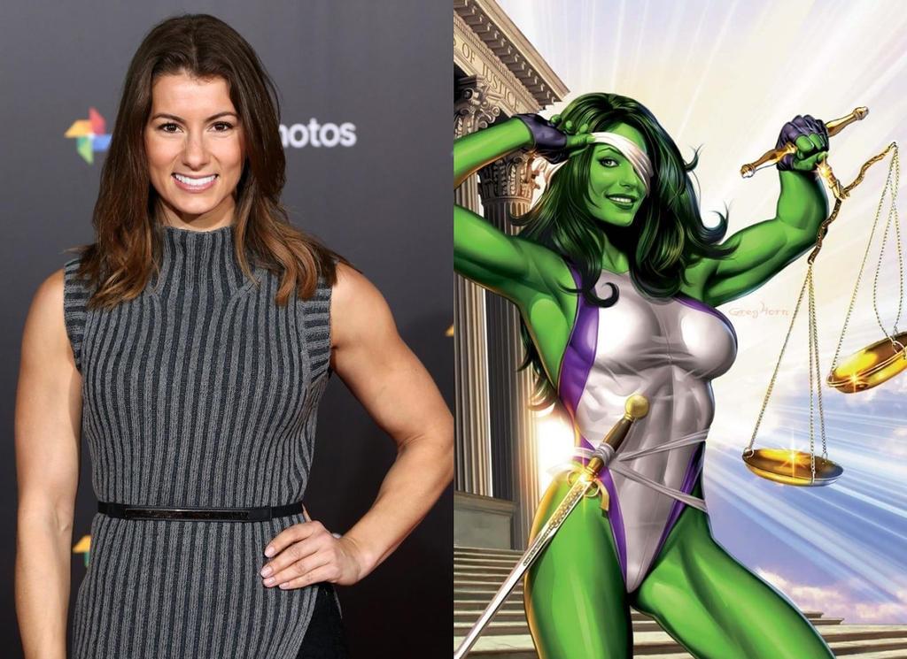 FAN CASTING: Jen Widerstrom as She-Hulk by CRayChosen1