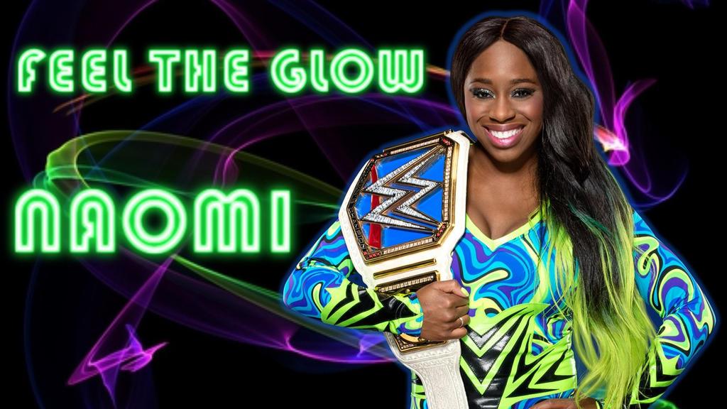 Naomi: Smackdown Women's Champion by CRayChosen1