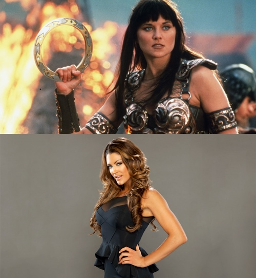 FAN CASTING: Eve Torres as Xena by CRayChosen1