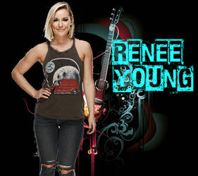 Renee Young by CRayChosen1