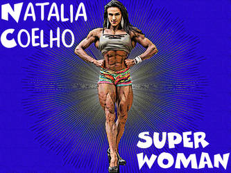 Natalia Coelho as a Comic Book Strip by CRayChosen1