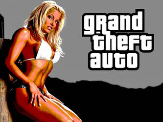Trish Stratus GTA Loading Screen by CRayChosen1