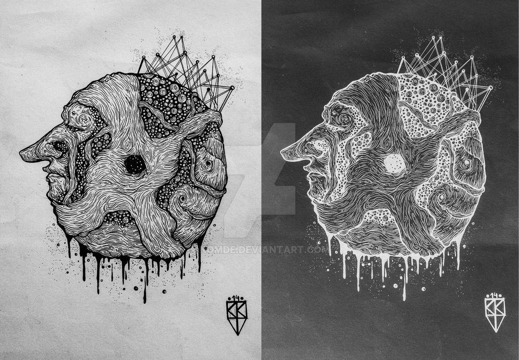 Circle debri by Nomde