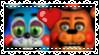 toy fronnie (toy bonniextoy freddy) stamp by toyfreddies