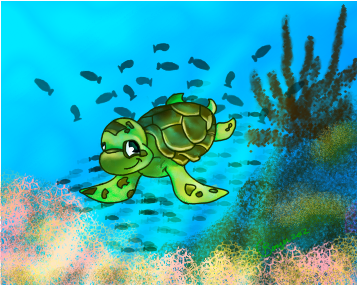 Sea Turtle by Sadict