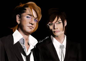 Eric and Alan (digital painting) by Sadict
