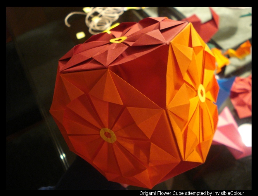 Origami flower cube by invisiblecolour on deviantart origami flower cube by invisiblecolour mightylinksfo