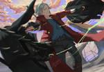 Dante (Devil May Cry 5) - Fanart
