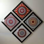 Kaleidoscope Images on Wall