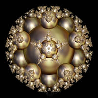 'Golden Pearl Cluster' by SBricker
