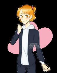 Illustration of Raibaru Fumetsu male version!