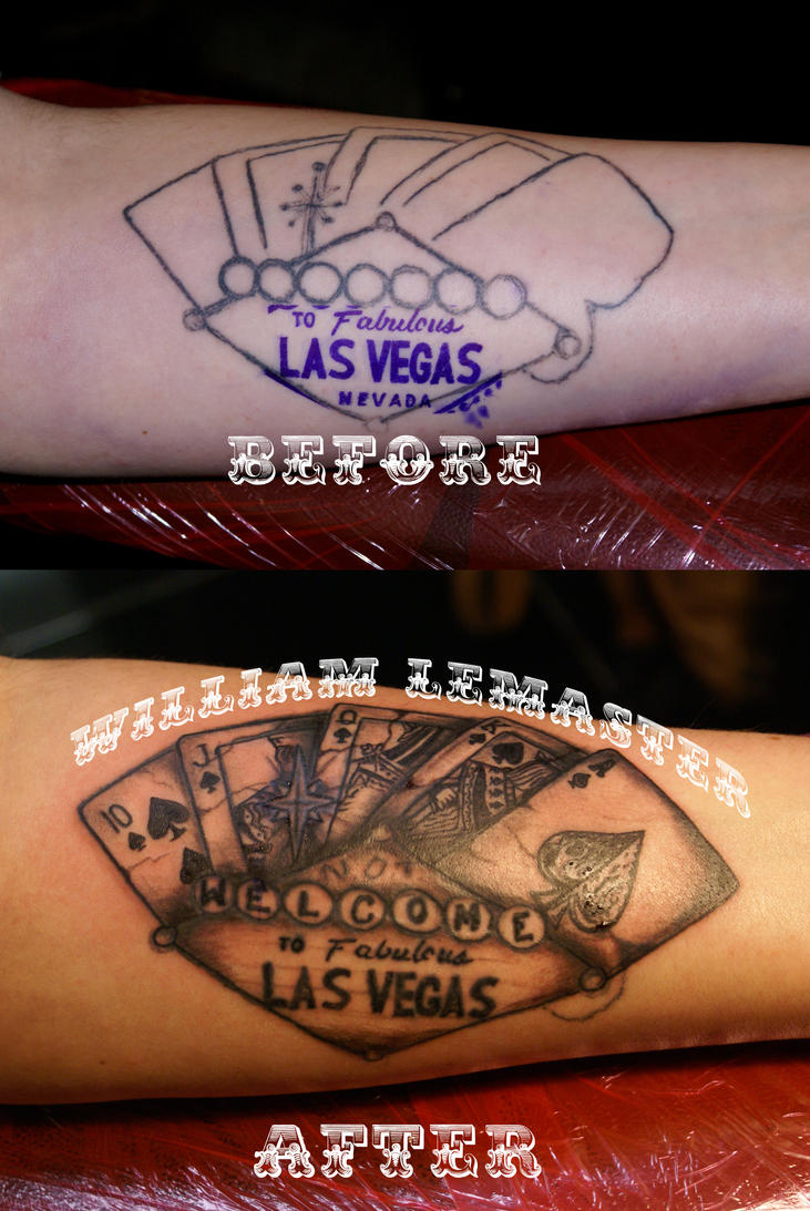 Tattoo Fix - Not Welcome to Las Vegas by lemaster99705