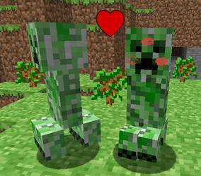 creeper love by Burnzy69