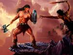 Conan VS Dark Army