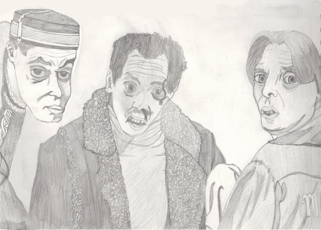 Steve Buscemi Through the Eyes of the CoenBrothers by brickwallsam