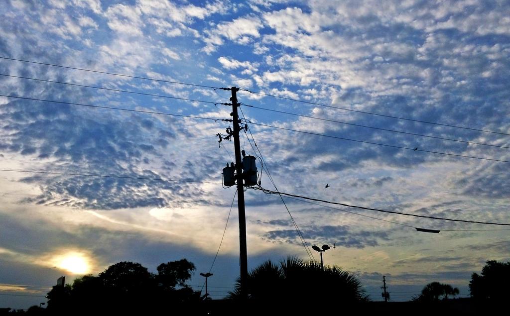 Florida Sky by brickwallsam