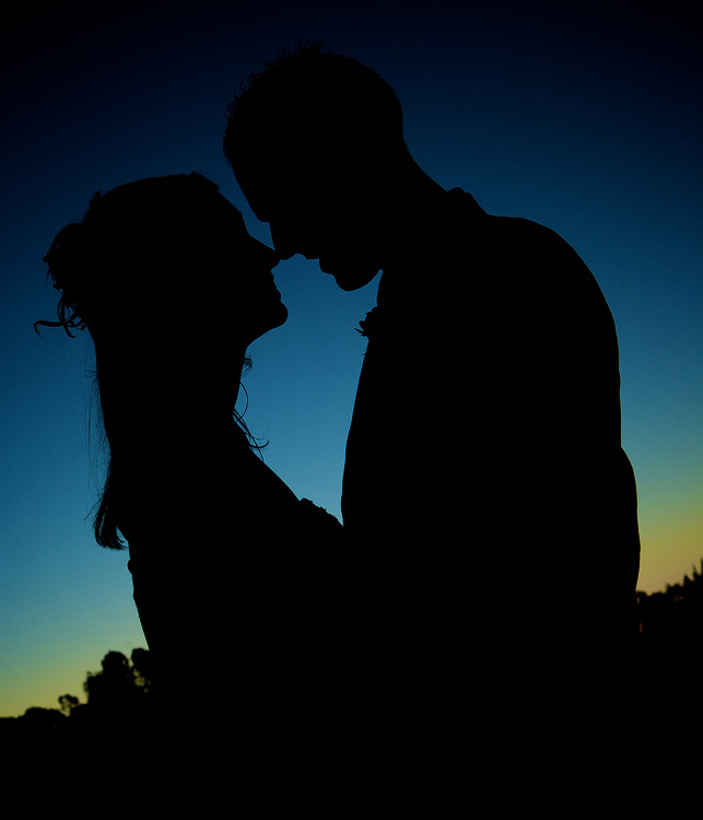 Nathan + Brigit Silhouette by exoart