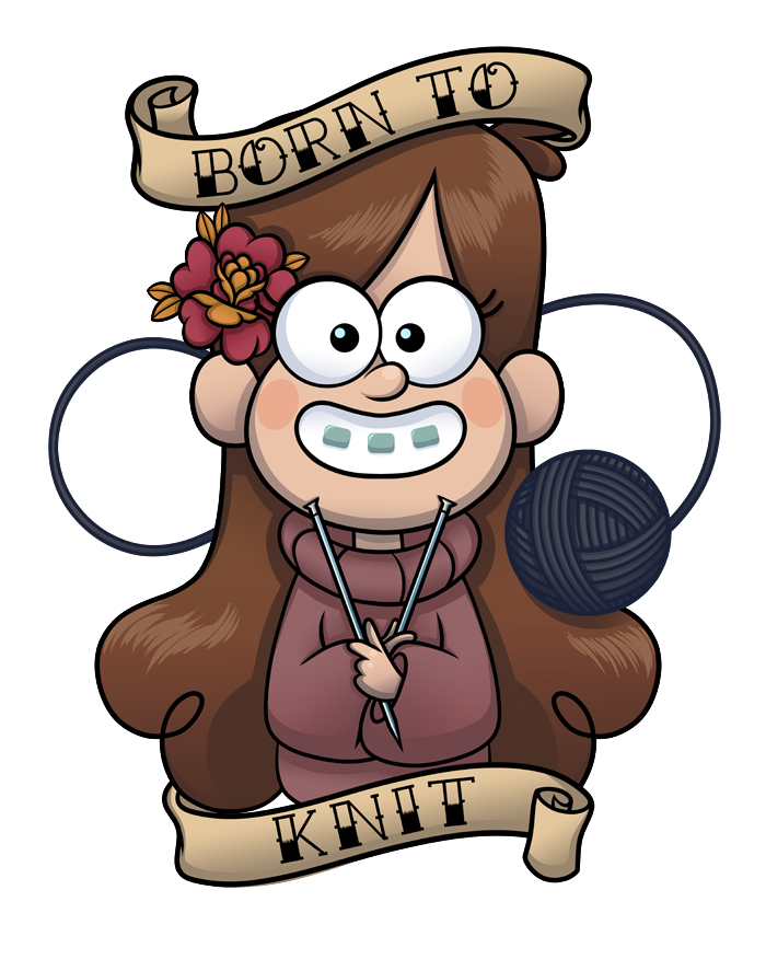 Born 2 Knit by MentalFloss