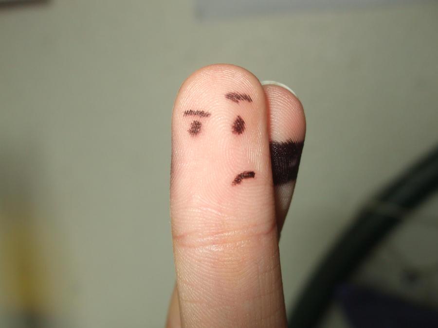 Ninja Finger by Timegirl4468