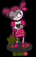 Spinel in her garden (Inktober #14 2019)