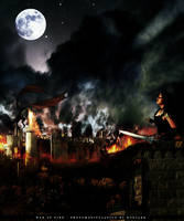 War of fire by Rogerdatter