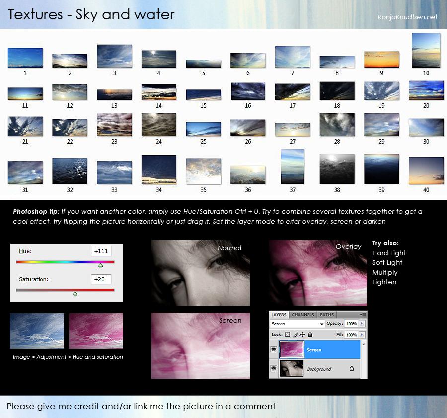 Textures: Sky TIP by Rogerdatter