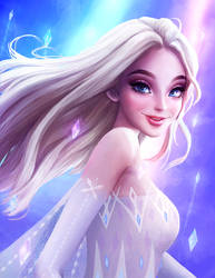 Show yourself! Elsa from Frozen 2 by OddVisuals