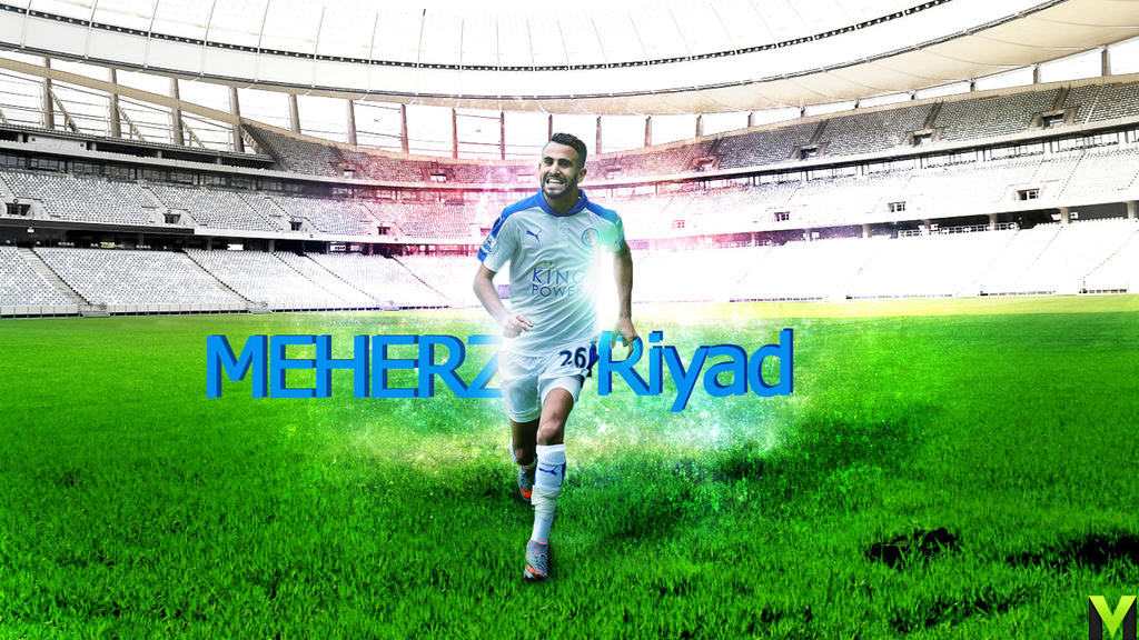 Wallpaper Riyad Mahrez By Zianemberak On DeviantArt