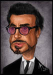 Robert Downey Jr. - Caricature