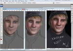 KRISTOFF FROM DISNEY'S 'FROZEN' - WIP