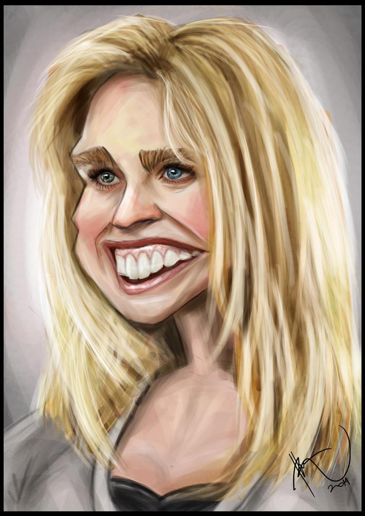 Alice Eve Caricature by rhezM