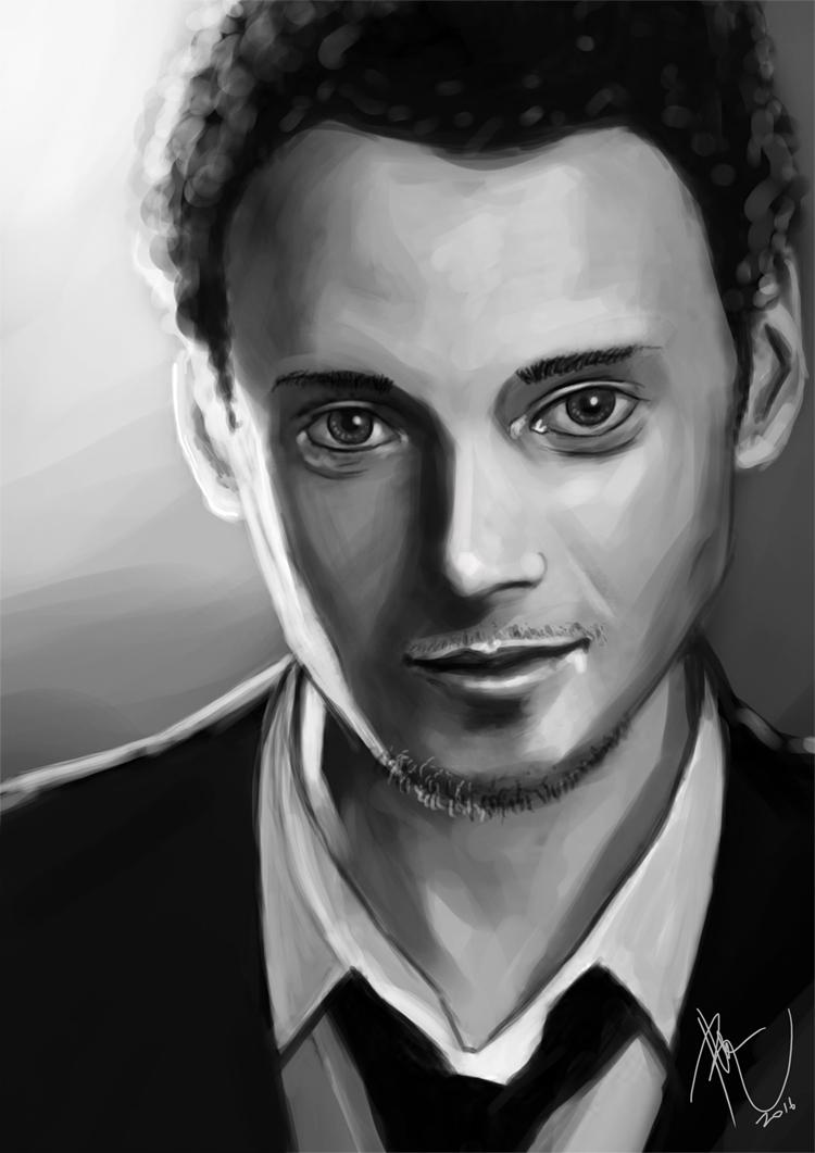 Anton Yelchin by rhezM