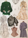 Women's Fashion of the 1890s-1900s