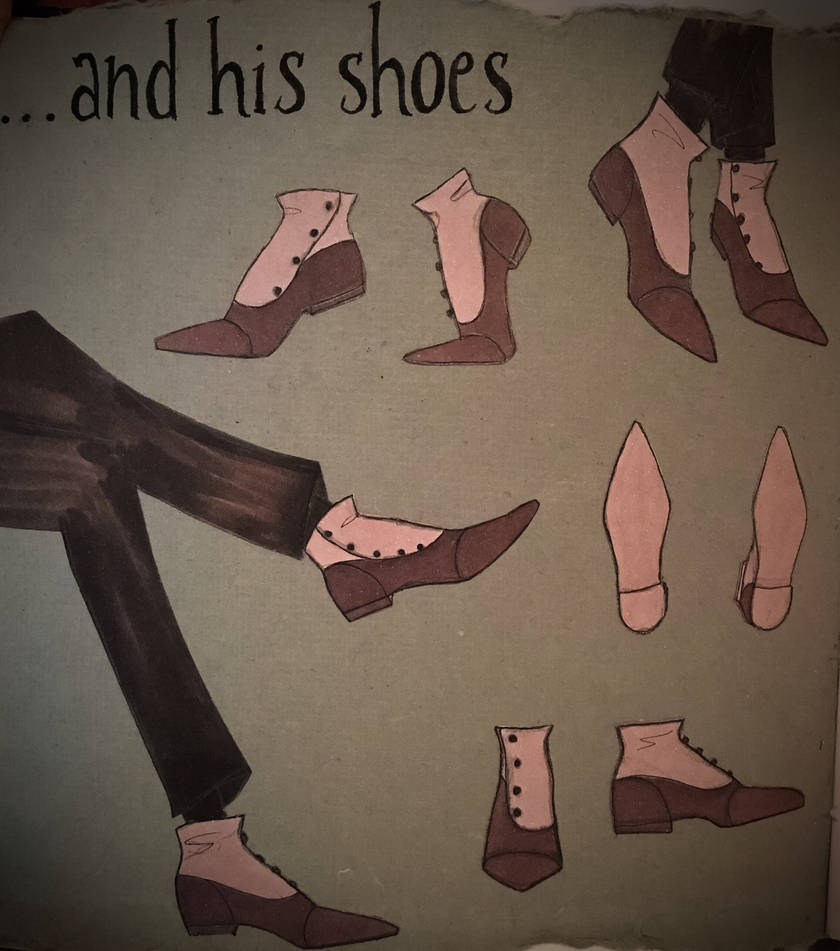 Mr. Morphy and His Shoes by Li33i