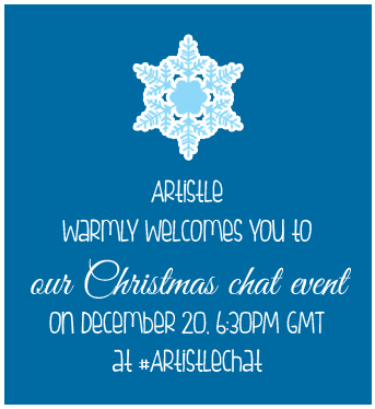 #Artistle Christmas ChatEvent Invite by AlexanderPaupoff