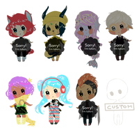 [open 1/7] -reduced prices- chibi adoptables #7