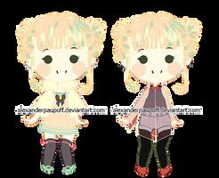 [custom] Pastel-Nero-Chuu by AlexanderPaupoff