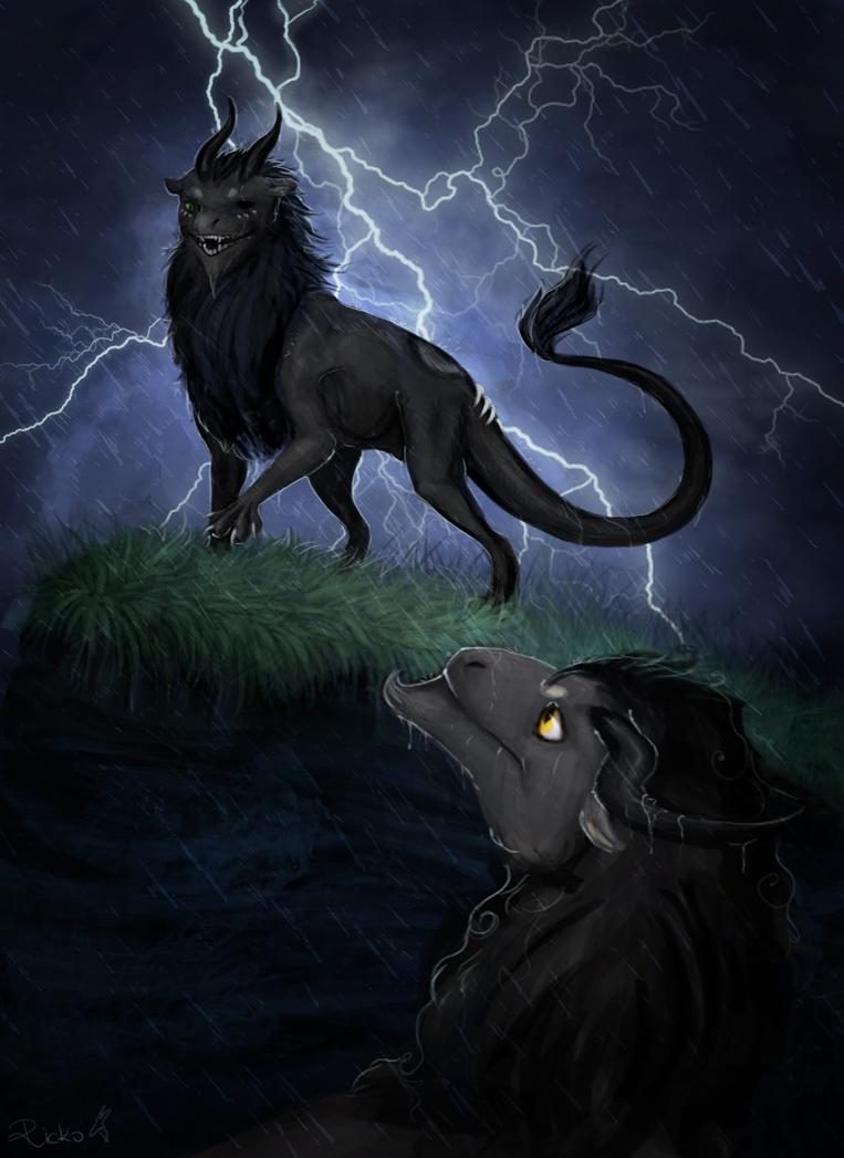 Lightning by R-r-ricko