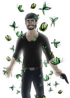 The king of butterflies - dr Kondraki by R-r-ricko